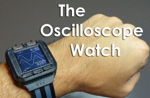 An Oscilloscope On Your Wrist | Hackaday