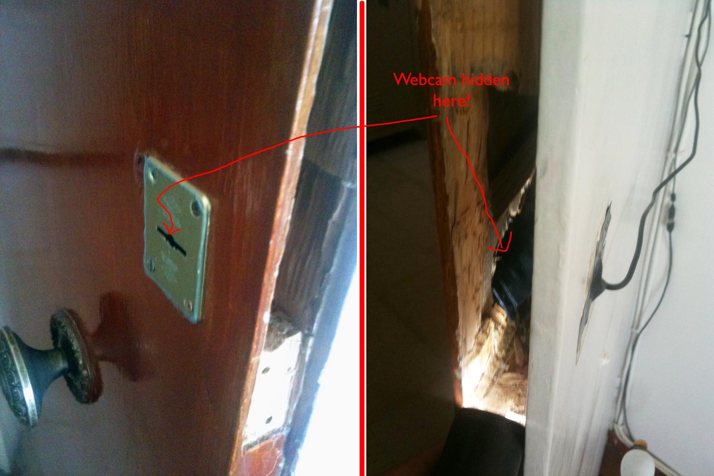 как установить скрытую камеру в комнате окончания института