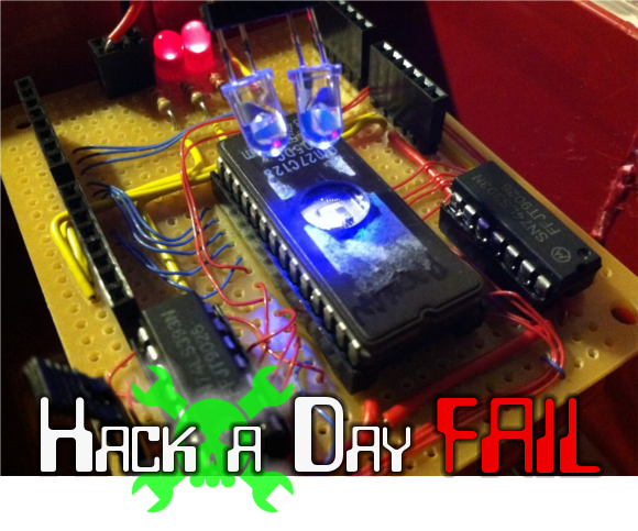 Fail Of The Week: EPROM Reading And Erasing | Hackaday