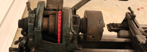 link-belt-on-lathe
