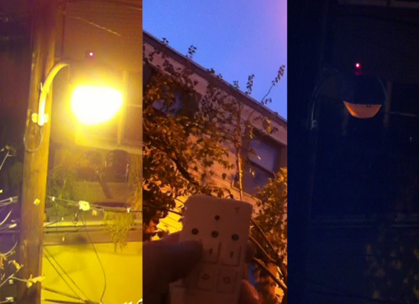 Hacking A Streetlight With Lasers | Hackaday