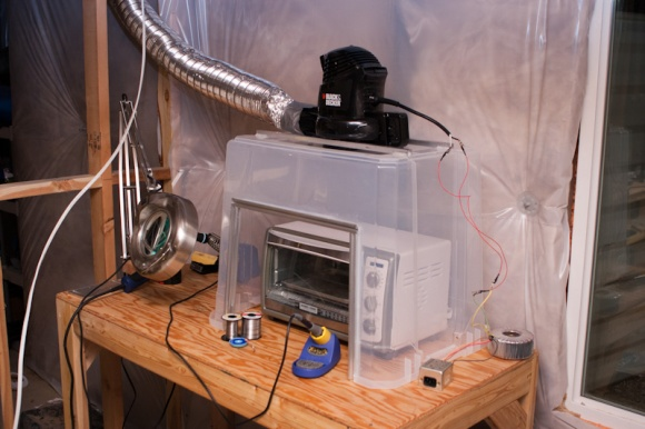Over-powered Fume Hood Is Awesome