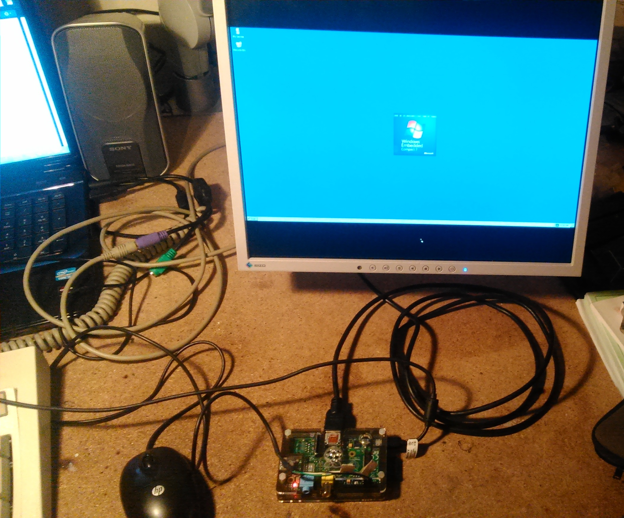 Windows CE On A Raspberry Pi | Hackaday