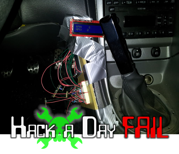 Fail Of The Week Can Bus Attached Hud For Ford Mustang Hackaday