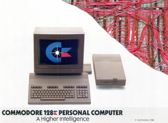 Behind the C128 Home Computer