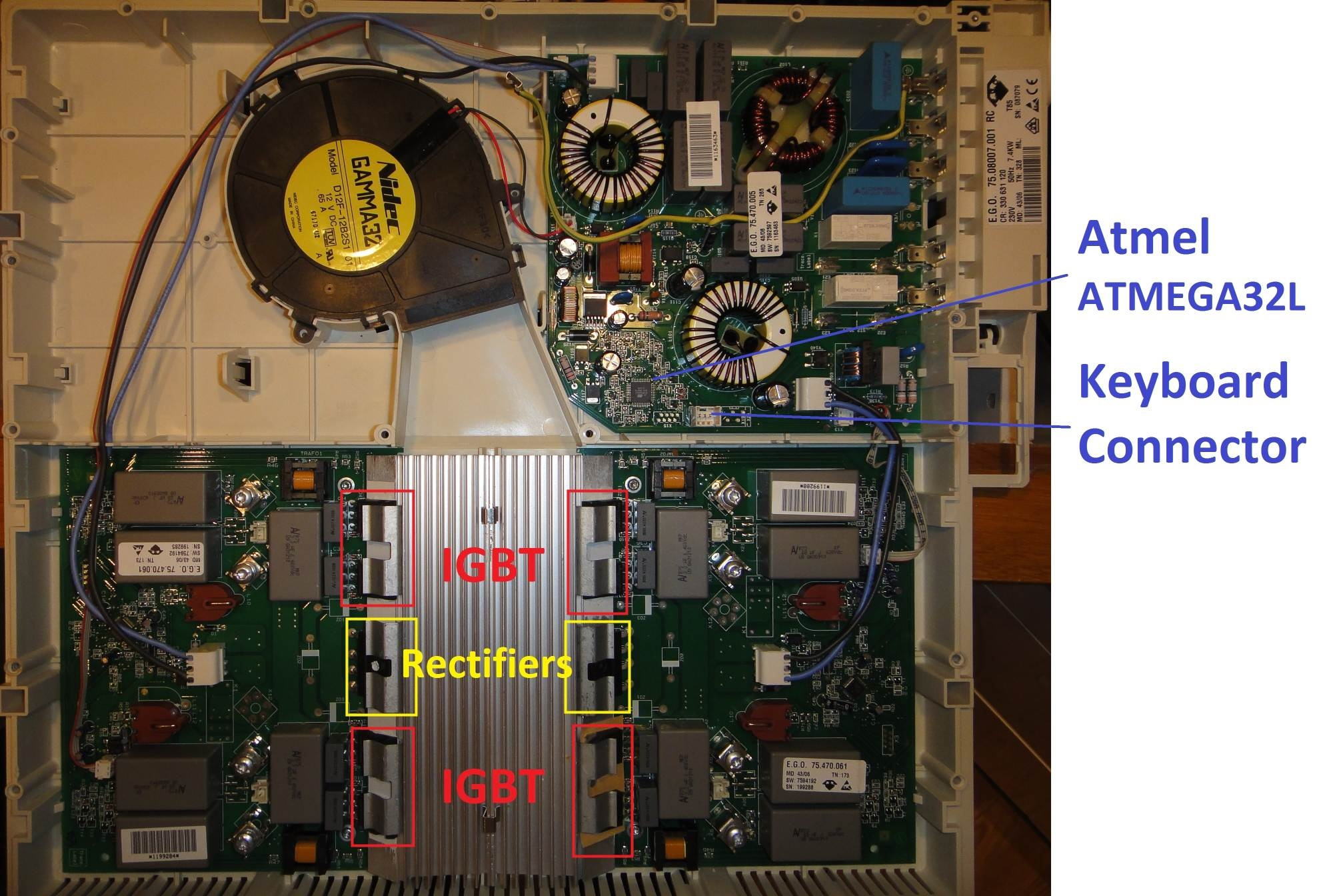 Repairing And Adding Bluetooth Control To An Induction Cooker