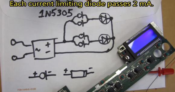 Current limiting diode 1