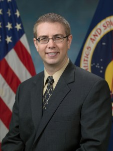 Portrait of Flight Director Ed Van Cise