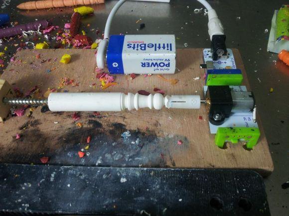 LittleBits Lathe