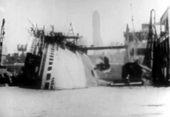 salavaging-a-capsized-ocean-liner