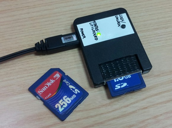 The Tiniest SD Card Locker | Hackaday