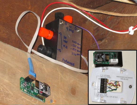 Wireless Thermostat Hackaday