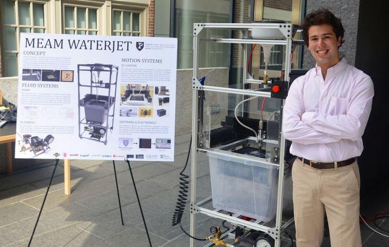 Hydro: The Low Cost Waterjet Cutter | Hackaday