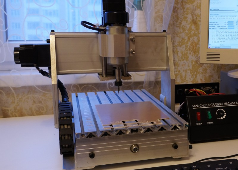Chinese 3020 CNC Machine Gets Some Upgrades | Hackaday