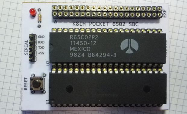 The Three Chip Retrocomputer | Hackaday