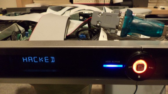 Hacked DVD Recorder