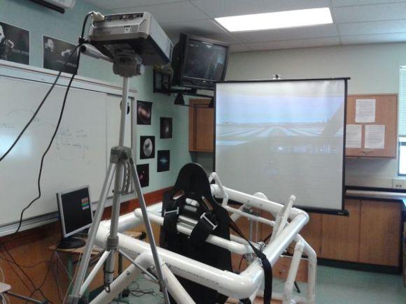Pneumatic Powered Flight Simulator | Hackaday