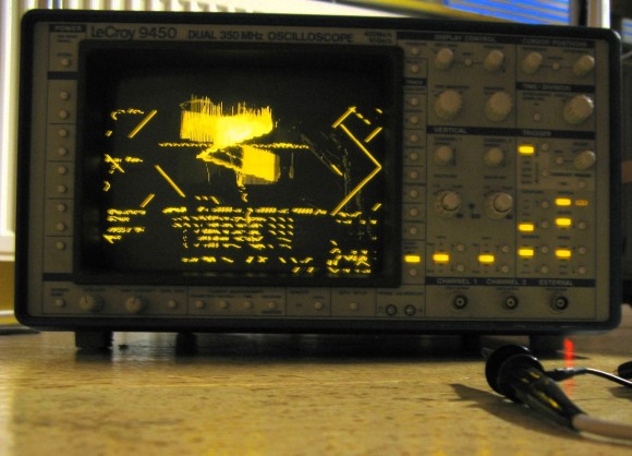 lecroy-9450-oscilloscope-repair