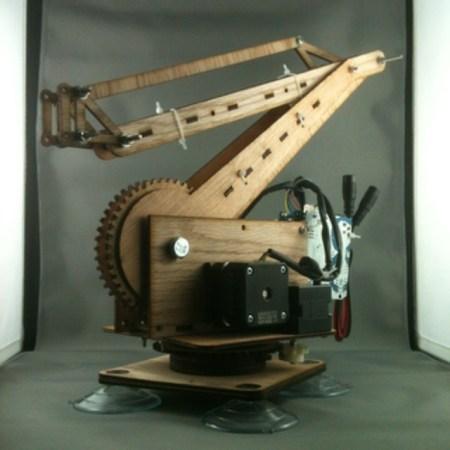 3 DOF Open Source Robot Arm Is Just The Beginning   Hackaday