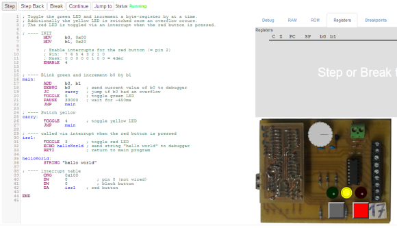 Learning Assembly With A Web Based Assembler | Hackaday