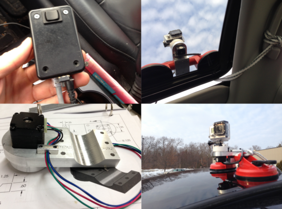 Panning GoPro Mount Catches Bad Drivers On Video | Hackaday