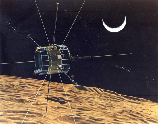 ISEE-3 Moon flyby