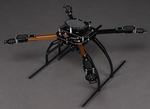 X650F quadcopter frame