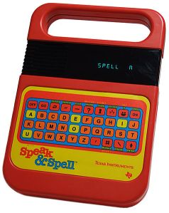 TI Speak and Spell