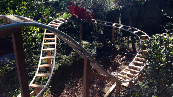 Backyard Roller Coaster – Family, Physics And Fun | Hackaday