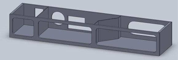 Computer Desk CAD Design