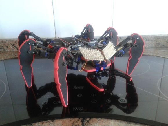 hexdrake low cost hexapod