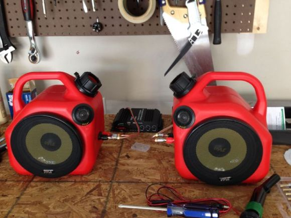 Gas Can Speaker