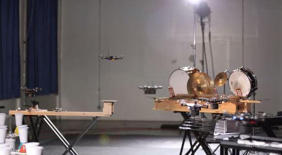 Flying Robot Symphony