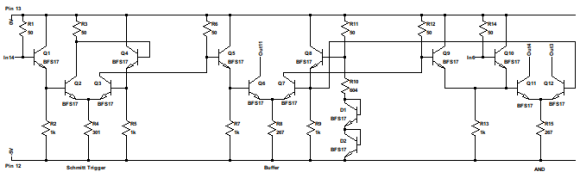 Block diagram of the HP 1820-0285