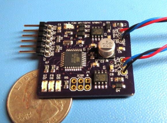 LIN bus signal injector