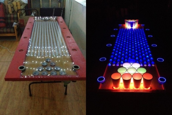 LED Beer Pong
