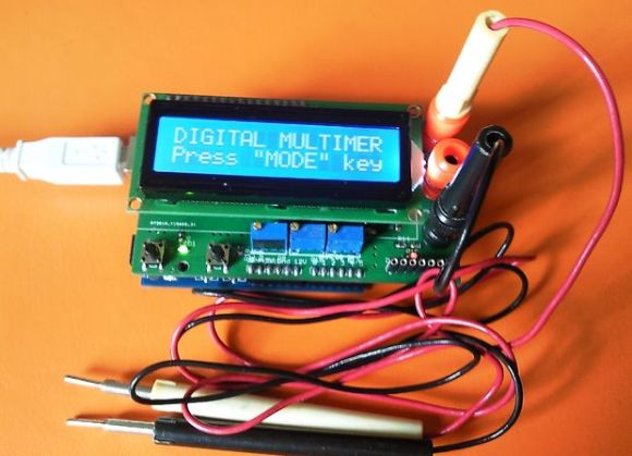 Arduino-based Multimeter