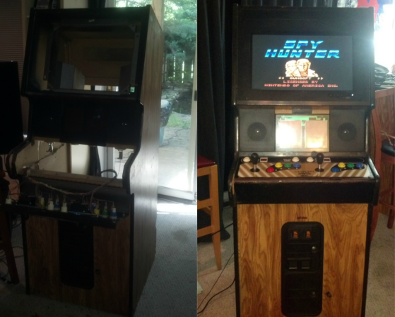 Neo Geo Arcade Gets Second Life With A Raspberry Pi | Hackaday