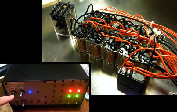 4-bit Adder Built From Mechanical Relays | Hackaday