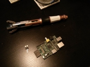 Sonic Screwdriver Lock