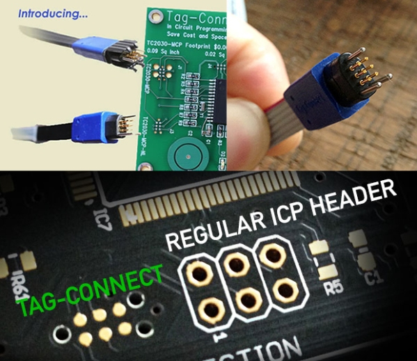 Tag Connect Programming Headers