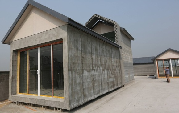 3d printed house in china