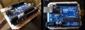 cardboard arduino case