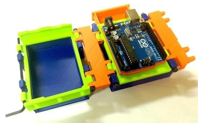 folding arduino lab