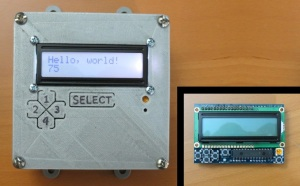 arduino case LCDelectricalbox