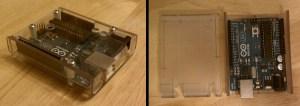 Lexan arduino case