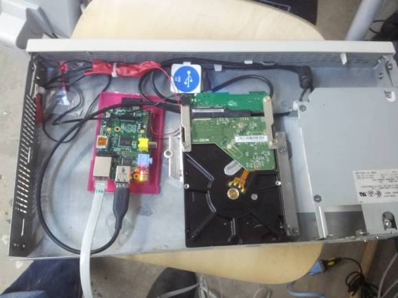 RasPi backup server