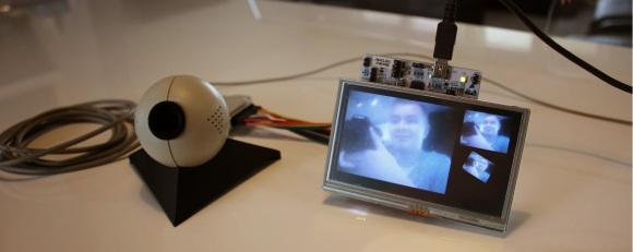 connecting parallel port web camera to gameduino 2