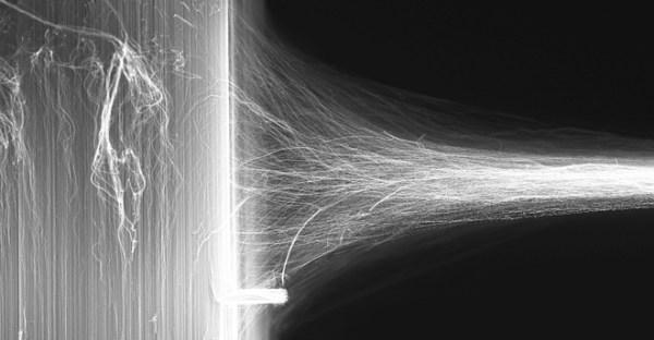 carbon nanotube being turned into aerogel sheet