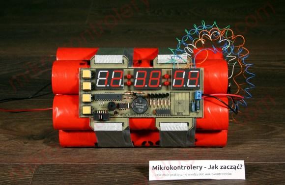 Bomb Clock Scares You Awake